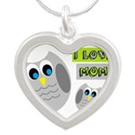 I LOVE MOM Necklaces