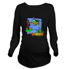 New Mexico Long Sleeve Maternity T-Shirt