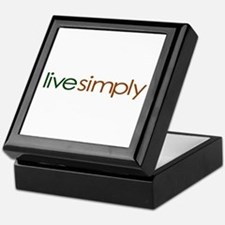 Live Simply Keepsake Box