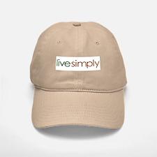 Live Simply Baseball Baseball Cap
