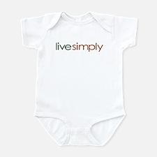 Live Simply Infant Bodysuit