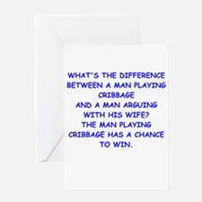 cribbage Greeting Cards