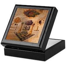 Freemasons Apron Keepsake Box