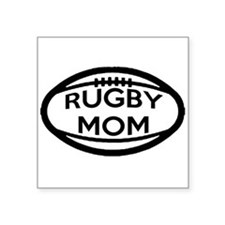 Rugby Mom Sticker
