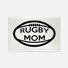 Rugby Mom Magnets