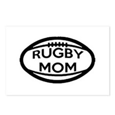 Rugby Mom Postcards (Package of 8)