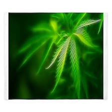 Green Dream-queen King Duvet