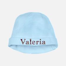 Valeria Pink Flowers baby hat