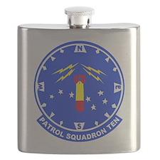 VP 10 Red Lancers Flask