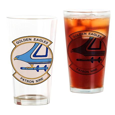 VP 9 Golden Eagles Drinking Glass