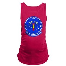 VP 10 Red Lancers Maternity Tank Top