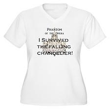 "Phantom of the Opera ""Falling Chandelier"" T-Shirt"