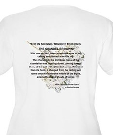 "Phantom of the Opera ""Falling Chandelier"" T-Shirt"