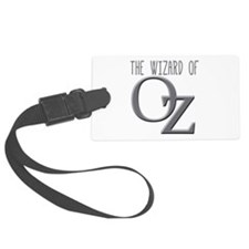 The Wizard of Oz Silver Luggage Tag