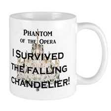 "Phantom of the Opera ""Falling Chandelier"" Mug"