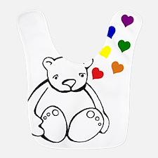Bears Love Color Bib