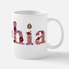 Sophia Pink Flowers Mugs