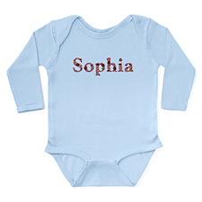 Sophia Pink Flowers Body Suit