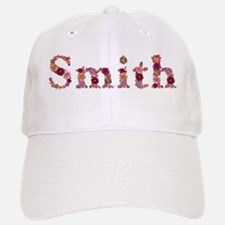 Smith Pink Flowers Baseball Baseball Baseball Cap