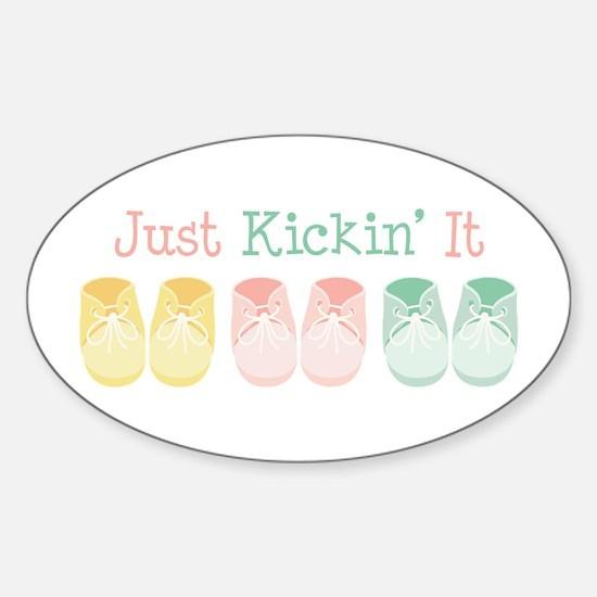 Just Kickin It Decal
