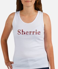 Sherrie Pink Flowers Tank Top