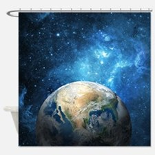 Planet Earth Shower Curtain