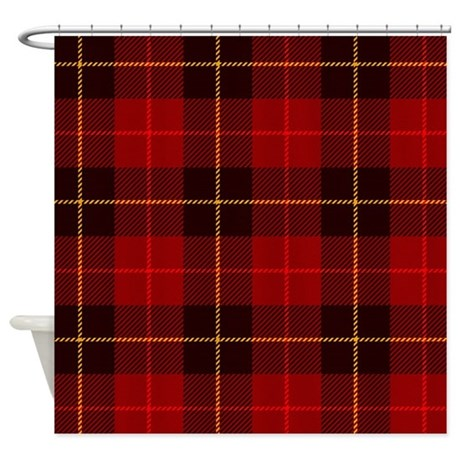 tartan plaid shower curtain by bestshowercurtains