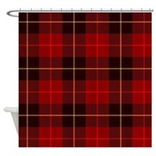 red plaid shower curtains red plaid fabric shower curtain liner