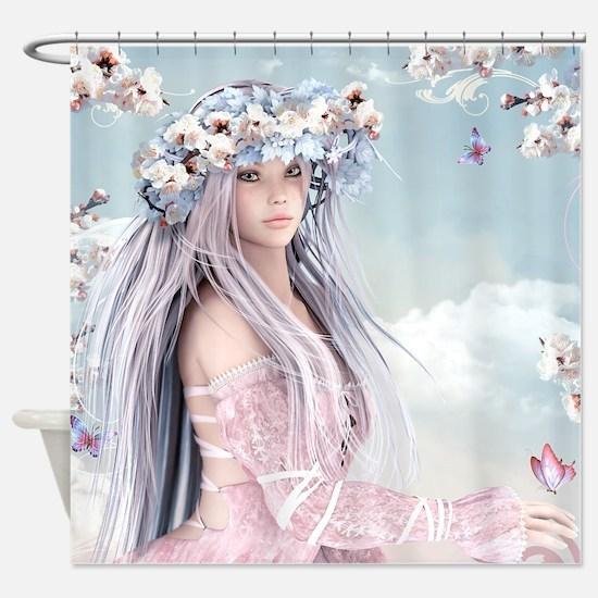 Fairytale Girl Shower Curtain