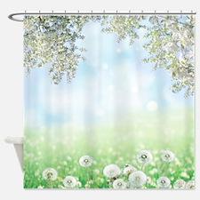 Dandelion Field Shower Curtain
