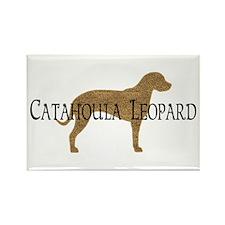 Catahoula Leopard Dog Rectangle Magnet