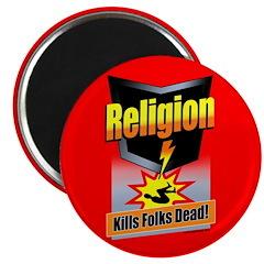 Religion: Kills Folks Dead! Magnet (10 pack)