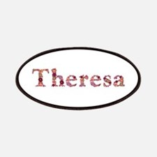 Theresa Pink Flowers Patch
