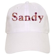 Sandy Pink Flowers Baseball Baseball Cap