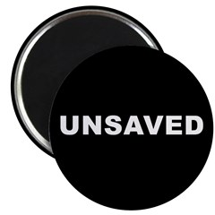 """UNSAVED! 2.25"""" Magnet (100 pack)"""