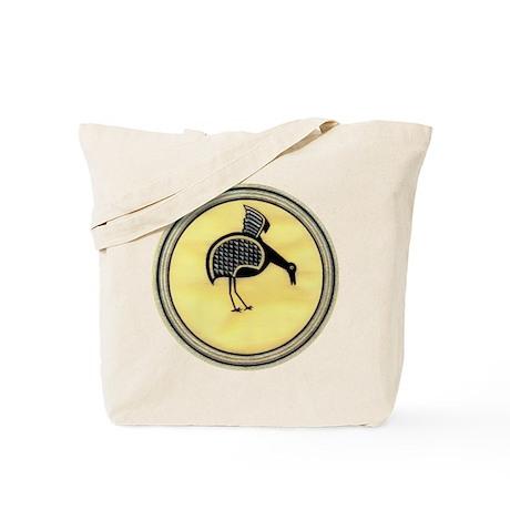 MIMBRES FEEDING BIRD BOWL DESIGN Tote Bag