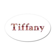 Tiffany Pink Flowers Wall Decal
