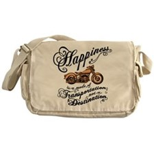 Mode of Happiness Messenger Bag