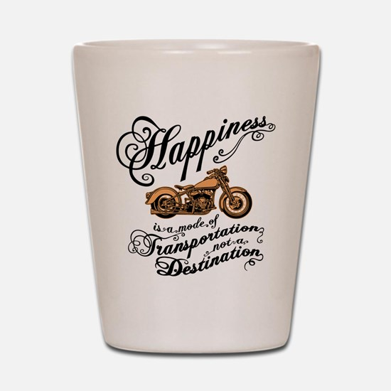 Mode of Happiness Shot Glass