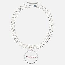 Veronica Pink Flowers Bracelet