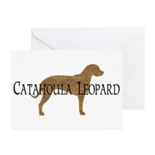 Catahoula Leopard Dog Greeting Cards (Pk of 10