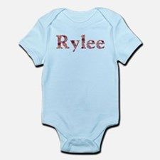 Rylee Pink Flowers Body Suit