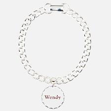 Wendy Pink Flowers Bracelet