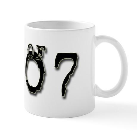 Class of 2007 Typed Mug