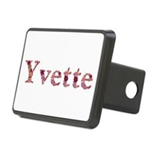 Yvette Pink Flowers Hitch Cover