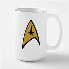 TOS Command Insignia Large Mug