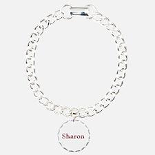 Sharon Pink Flowers Bracelet