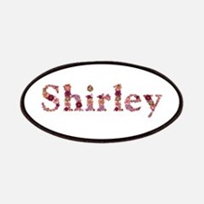 Shirley Pink Flowers Patch