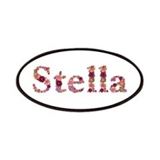 Stella Pink Flowers Patch