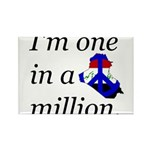 One in a Million Rectangle Magnet (10 pack)